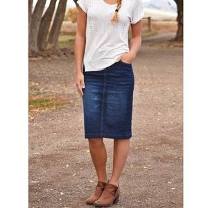 Gap Limited Edition Jeans Skirt.